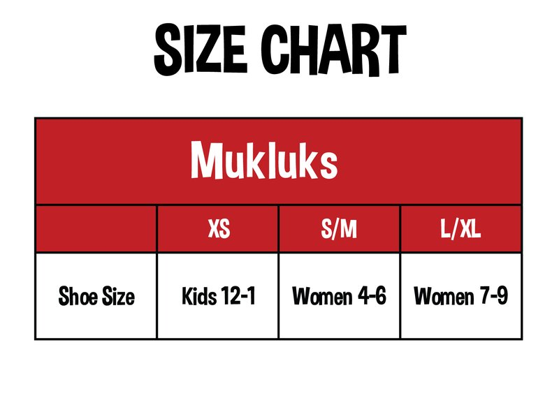 Mukluk Slippers | Kids & Adult