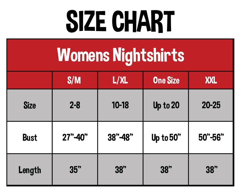 Nightshirts: V-Neck | One size | XXL