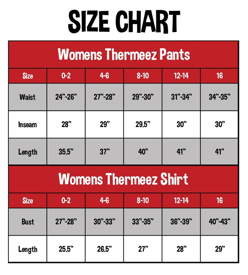 Thermal Set | Women's Shirt & Pant